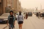 Sandstorm in Kashgar