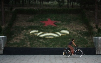 Soviet war memorial, Dushanbe, Tajikistan