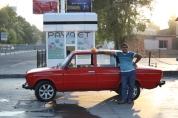 Proud Lada owner