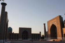 Superbly impressive Registan at Samarkand