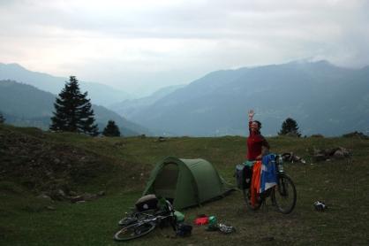 A fine camp spot