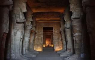 Impressive Abu Simbel temple