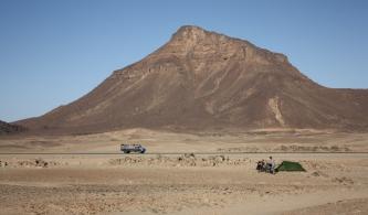 Camping in Sudan