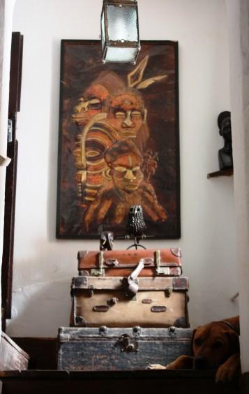 Inside Shiwa N'gandu.